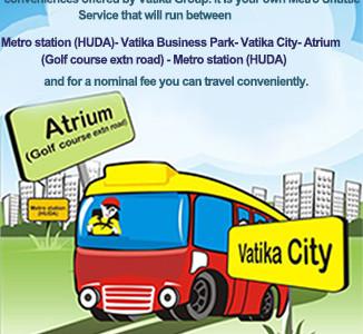 Metro Shuttle Bus Services by Vatika
