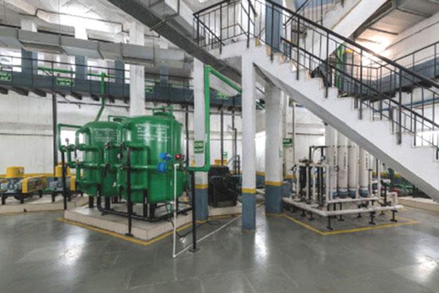 sewage treatment plant at vatika inxt