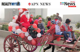 Christmas Celebrations at Gurugram by Enviro