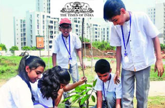 Residents come together to plant a lakh trees in and around Gurgaon Sector 83