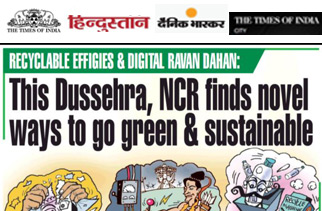 This Dussehra, NCR finds Novel Way to Go Green & Sustainable