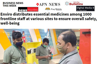 Enviro Distributes Essential Medicines among the Frontline Workers