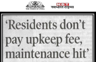 Some don't pay upkeep fee, maintenance hit, say residents